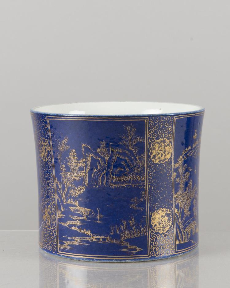 Porte pinceau bitong en porcelaine de chine xviiie for Porcelaine de chine