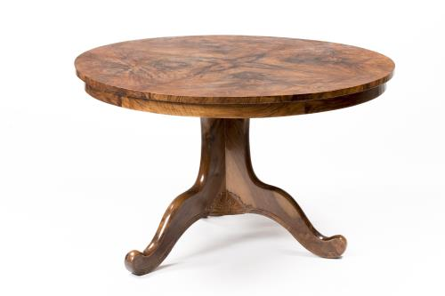 Table ronde d 39 poque louis philippe for Table ronde louis philippe