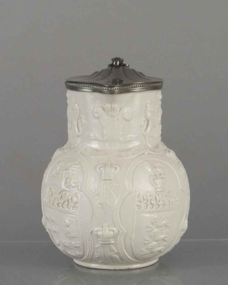 Verseuse en porcelaine blanche d 39 albion par w b cobridge - Applique porcelaine blanche ...