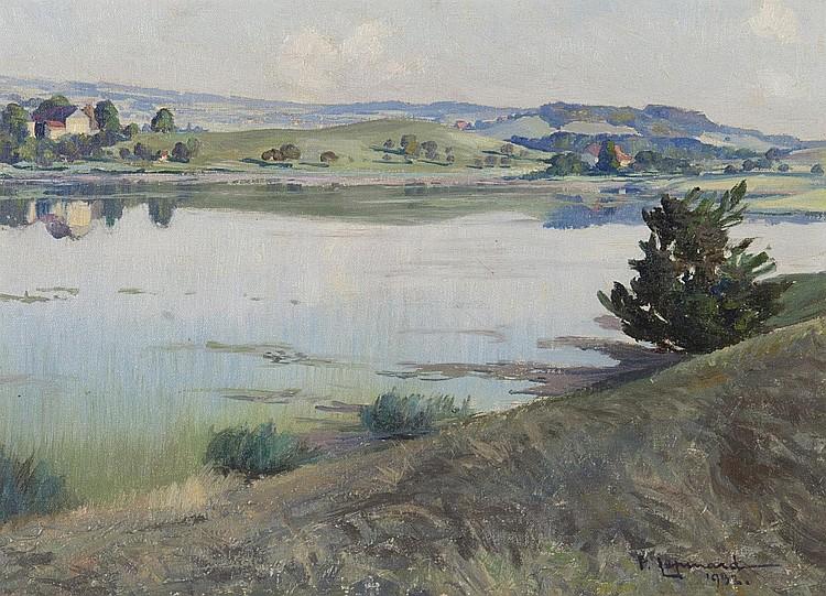 huile sur carton de Paul LEPINARD (1887-1963)