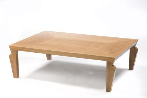 Table basse en ch ne design art d co - Table basse design solde ...