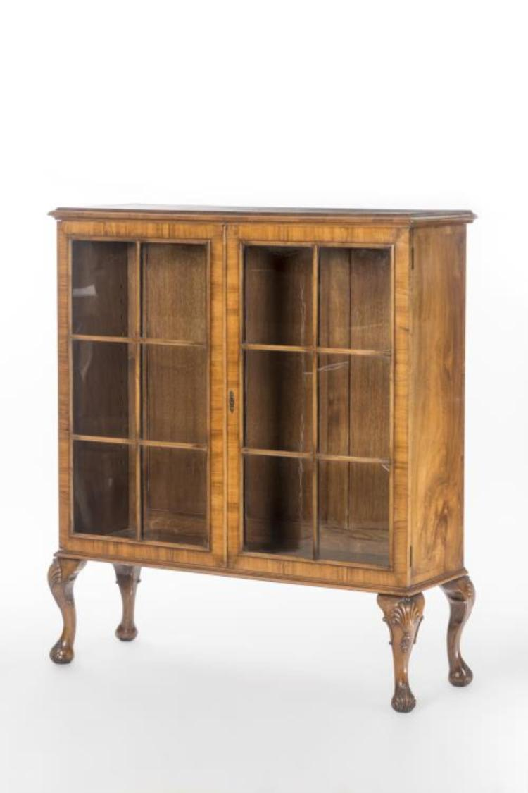 Biblioth que vitr e de style chippendale for Meuble chippendale