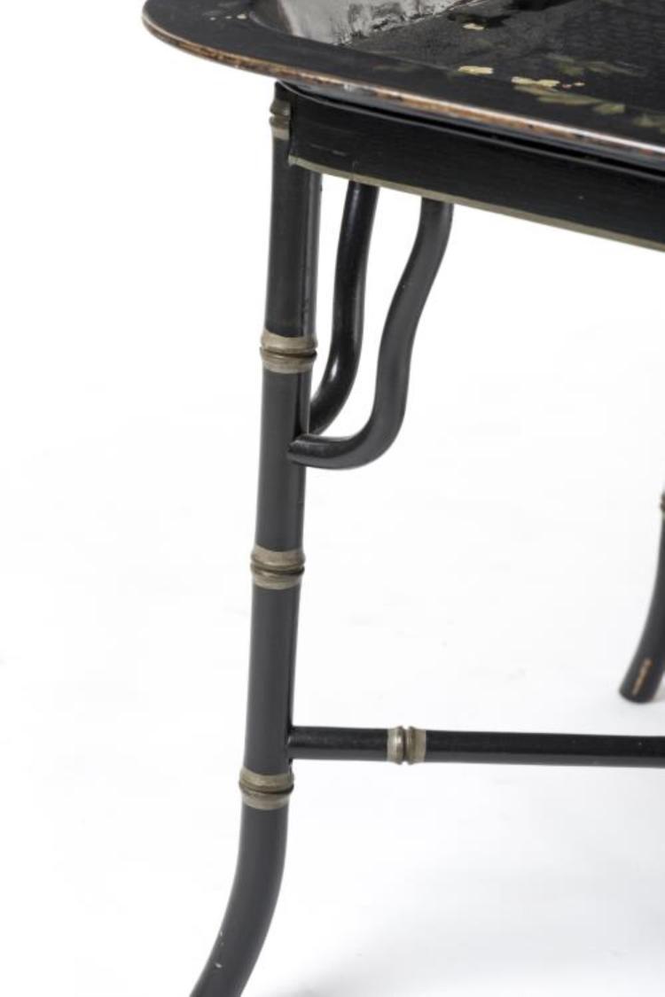 table rectangulaire en laque du japon. Black Bedroom Furniture Sets. Home Design Ideas