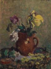 """Emile Bressler (1886-1966), """"Bouquet de fleurs"""""""