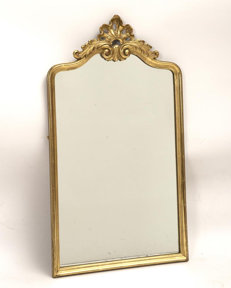 Miroir rectangulaire fronton ajour for Miroir blanc rectangulaire