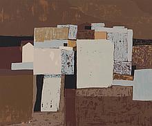 """lithographie sur papier de Charles MONNIER (1925-1993) """"Composition abstraite"""" 111/120 sbd au crayon"""