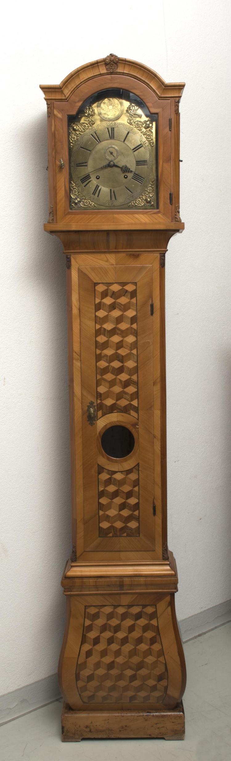 morbier ou horloge de parquet par jakob maeyer in wienn geh. Black Bedroom Furniture Sets. Home Design Ideas