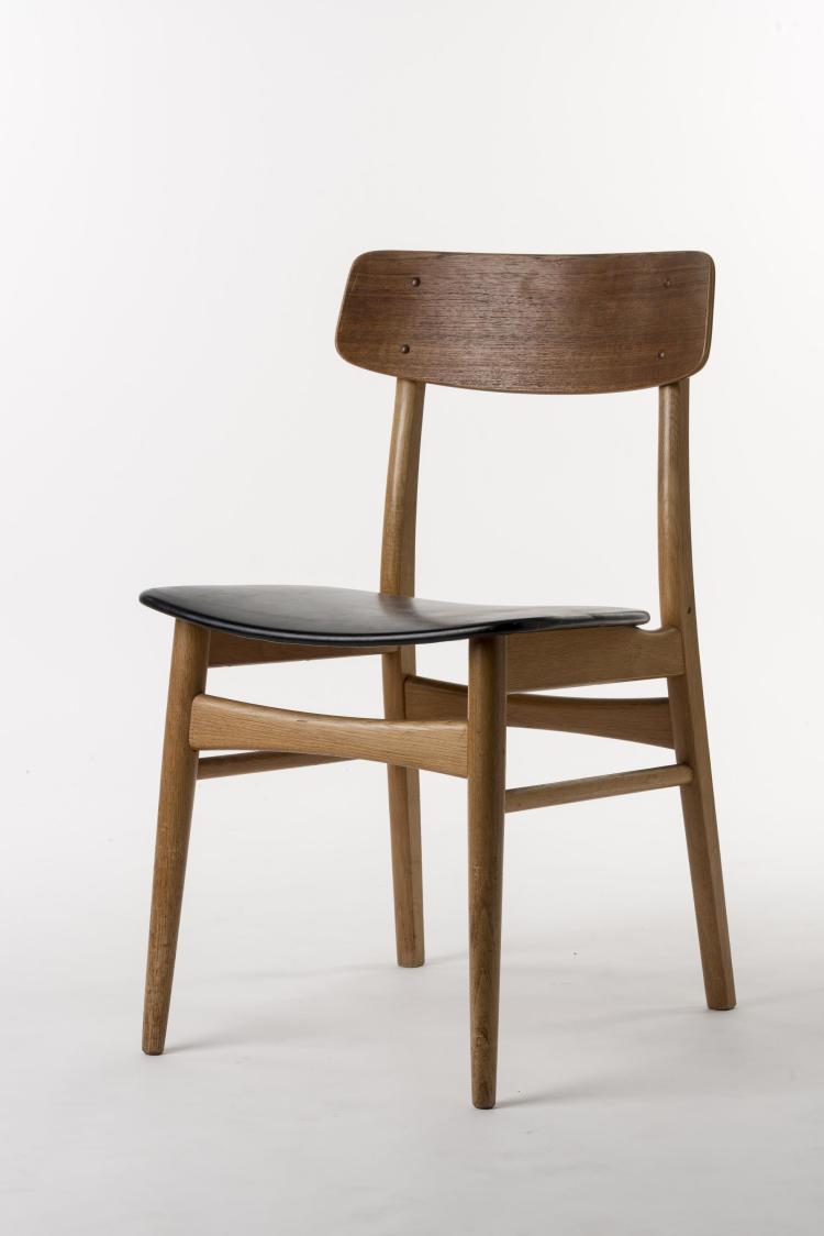 hans wegner chaise produite par carl hansen mod le ch30 an. Black Bedroom Furniture Sets. Home Design Ideas