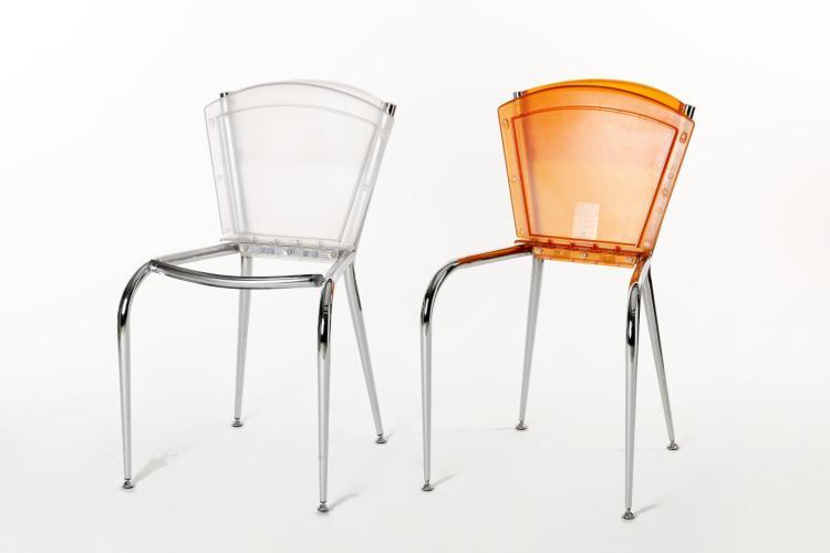 Enrico baleri 6 chaises mim pour cerruti baleri - House pour chaise ...