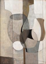 """Charles Monnier (1925-1993, CH), """"Les vases gris""""."""