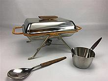 Porte plateau H. 18cm Design LUNDTOFTE  - Petite casserole - Grande cuillèr