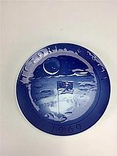 Assiette Décorative en porcelaine VICTORIA SPATII de 1969 - ROYAL COPENHAGE