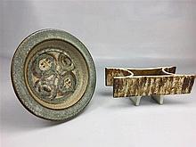 Coupe céramique SOHOLM D. 23cm + Coupe N°2033 céramique H. 10 cm