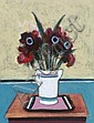 Jack Donovan b.1934 SUMMER FLOWERS Oil on Board, Jack Donovan, Click for value