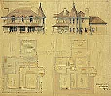 "Henry Crisp, Architect"" 1825 - 1896 PROPOSED FARM"