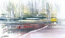 JJ Macken LEAFY BOWER Watercolour 11.5