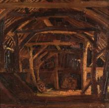 ARR * § Copnall (Edward Bainbridge, 1903-1973). The Barn, 1925