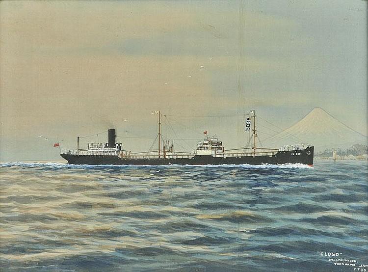 * Shimidzu (H.). El Oso of Yokohama Japan 1930,