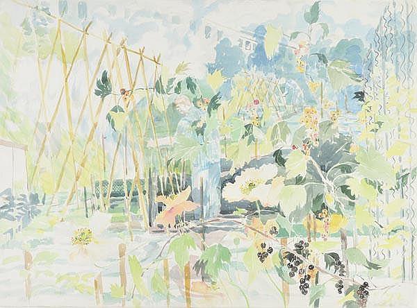 Lloyd (Elizabeth Jane, 1928-1995). Working in the