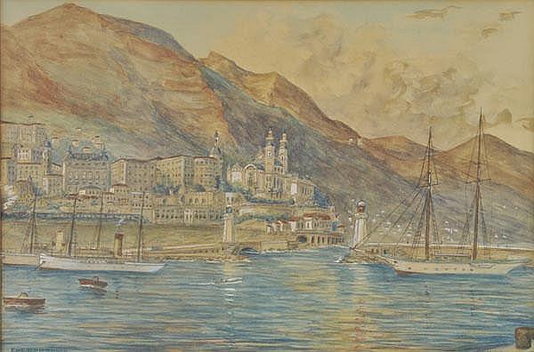 Rensburg (Eugene, 1872-1956). Monte Carlo,