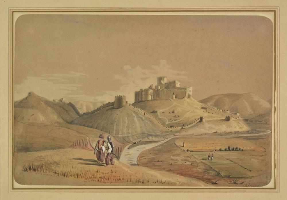 Lot 237 Churchill Henry Adrian Castle Of Khoshab Stronghold Khan Abdel One The Chief Murderers Nestorians