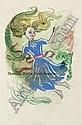 Braby (Dorothea, 1909-1987). Four sketchbooks