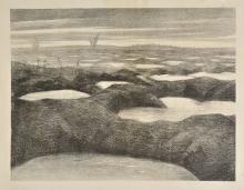 *@ Nevinson (Christopher Richard Wynne, 1889-1946). After a Push, 1918,
