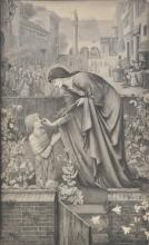* Hollyer (Frederick, 1837-1933). The Prioress's Tale by Edward Burne-Jones (1898),