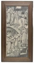 * Hollyer (Frederick, 1837-1933). The Golden Stairs by Edward Burne-Jones, 1880,