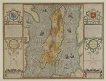 * Isle of Man. Speed (John), The Isle of Man exactly described and into several Parishes divided with every Towne, Village, Baye, Creke and Rivere therein conteyned..., published Henry Overton, circa 1710,
