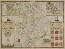 * Warwickshire. Speed (John), The Counti of Warwick The Shire Towne and Citie of Coventre described, published Thomas Bassett & Richard Chiswell, circa 1676,