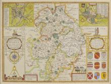* Warwickshire. Speed (John), The Counti of Warwick, The Shire Towne and citie of Coventre described, published John Sudbury & George Humble, [1616],