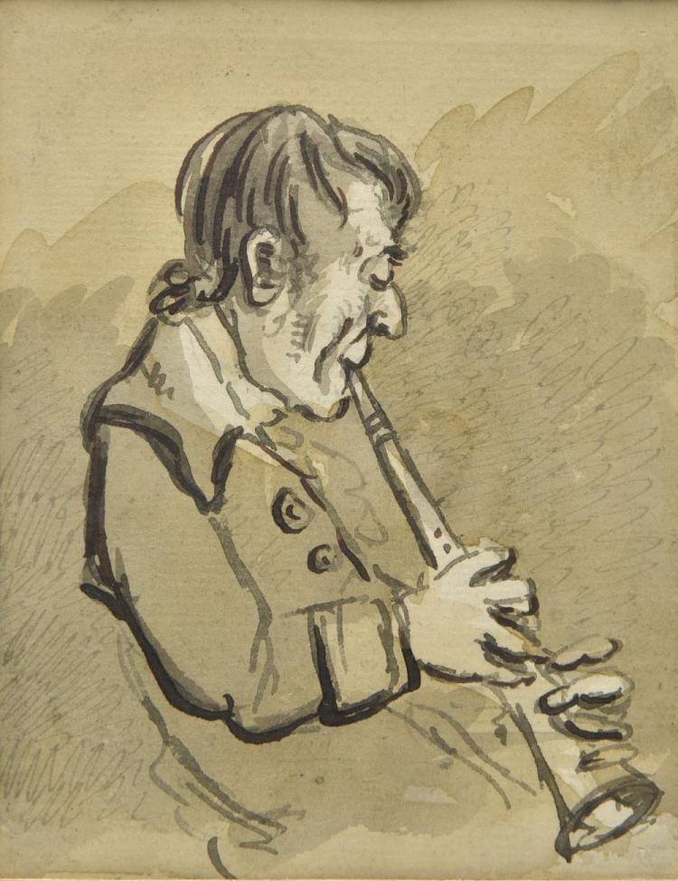 * Nixon (John, 1760-1818). The Oboeist,