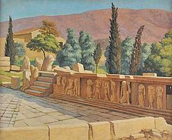 Baynes (Anthony, 1921-2003). Theatre of Dionysus,