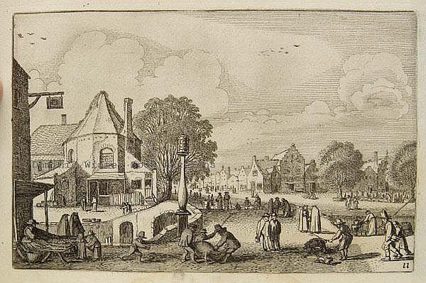Velde (Jan van de, II, 1593-1641). Landscapes and