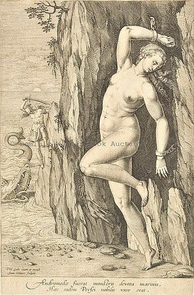 Collaert (Hans, II, 1566-1628). Perseus and