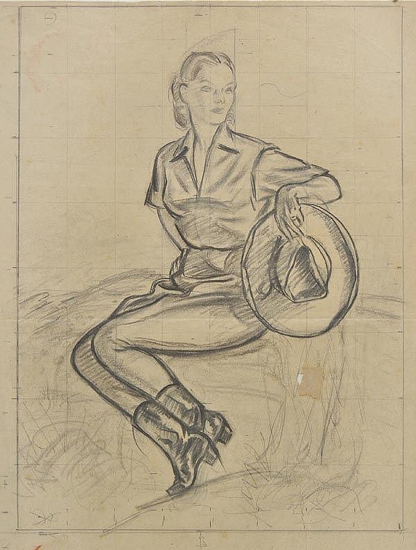 Green (Leonard James, 1905-1993). - Album of portraits,