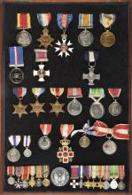 Aviation, Military & Transport Medals, Stamps & Coins