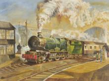 * Verity (Colin, 1924-2011). GWR Locomotive 'King Richard', No. 6051,