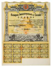 * Bonds and Share Certificates. A collection of over 200 certificates, mid 19th century to early 20th century,