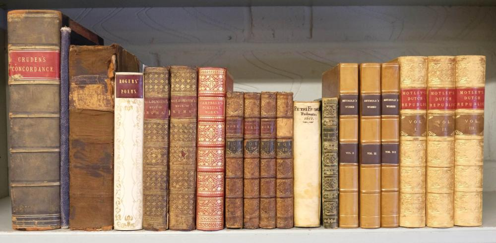 Bindings. The Rise of the Dutch Republic. A History by John Lothrop Motley, 1875, & others