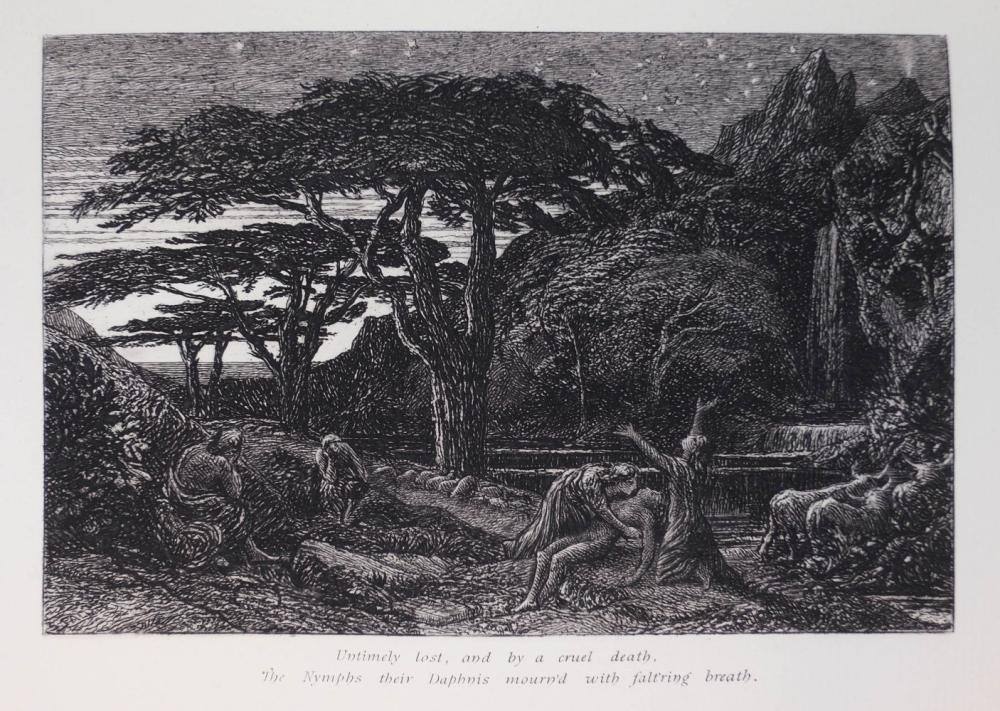 Palmer (Samuel). An English Version of the Eclogues of Virgil, 1884