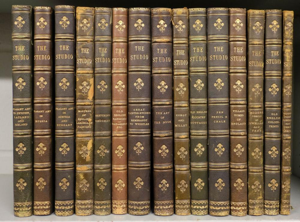 The Studio. 15 volumes, edited by Charles Holme, circa 1910