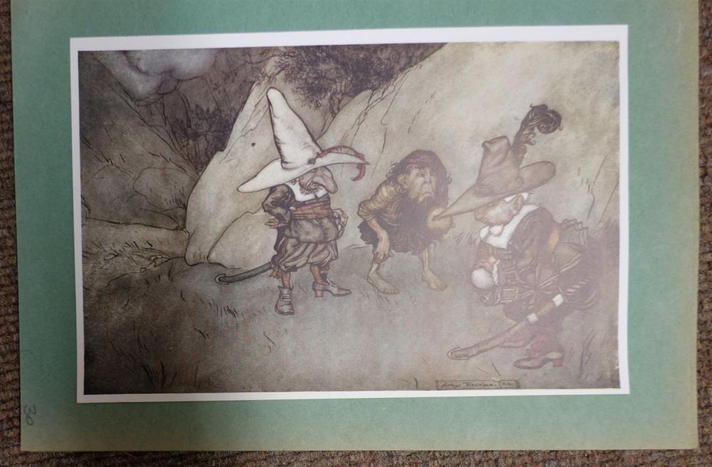 * Children's Illustrators. A large collection of approximately 940 illustrations, early 20th century