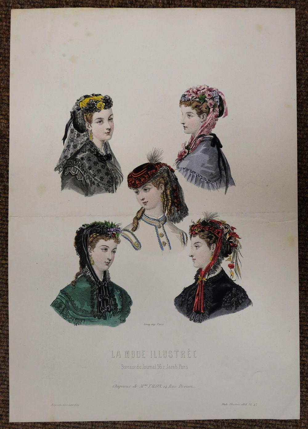 * Fashion & Costume. A mixed collection of approximately 550 prints, 19th & 20th century,