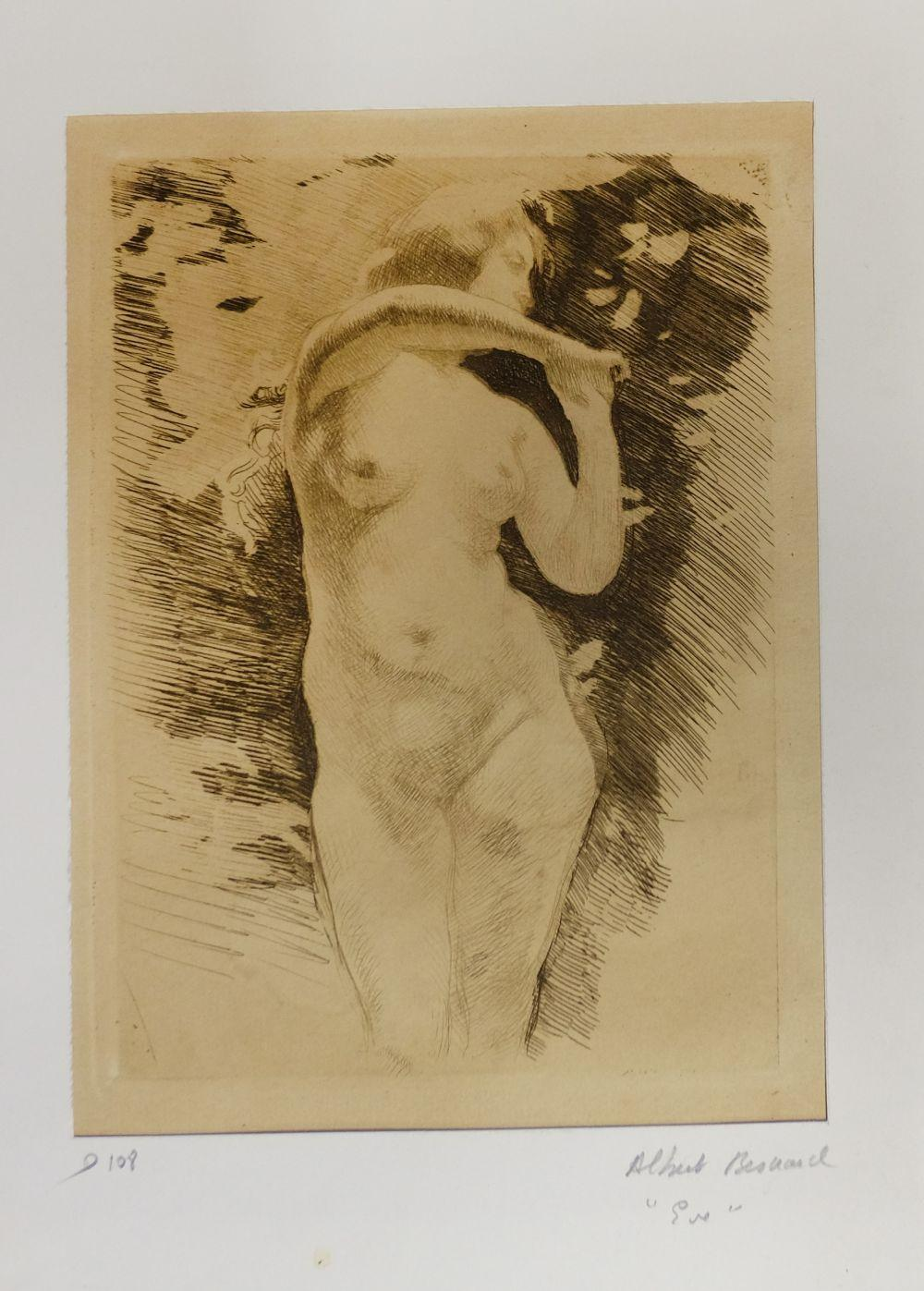 * Etchings. A mixed collection of approximately sixty-five etchings, mostly early 20th century,