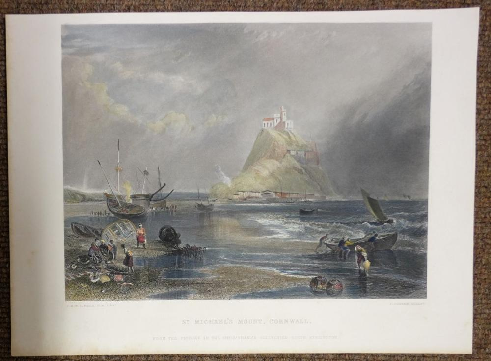 * Prints & engravings. A mixed collection of approximately 425 prints, 19th & 20th century