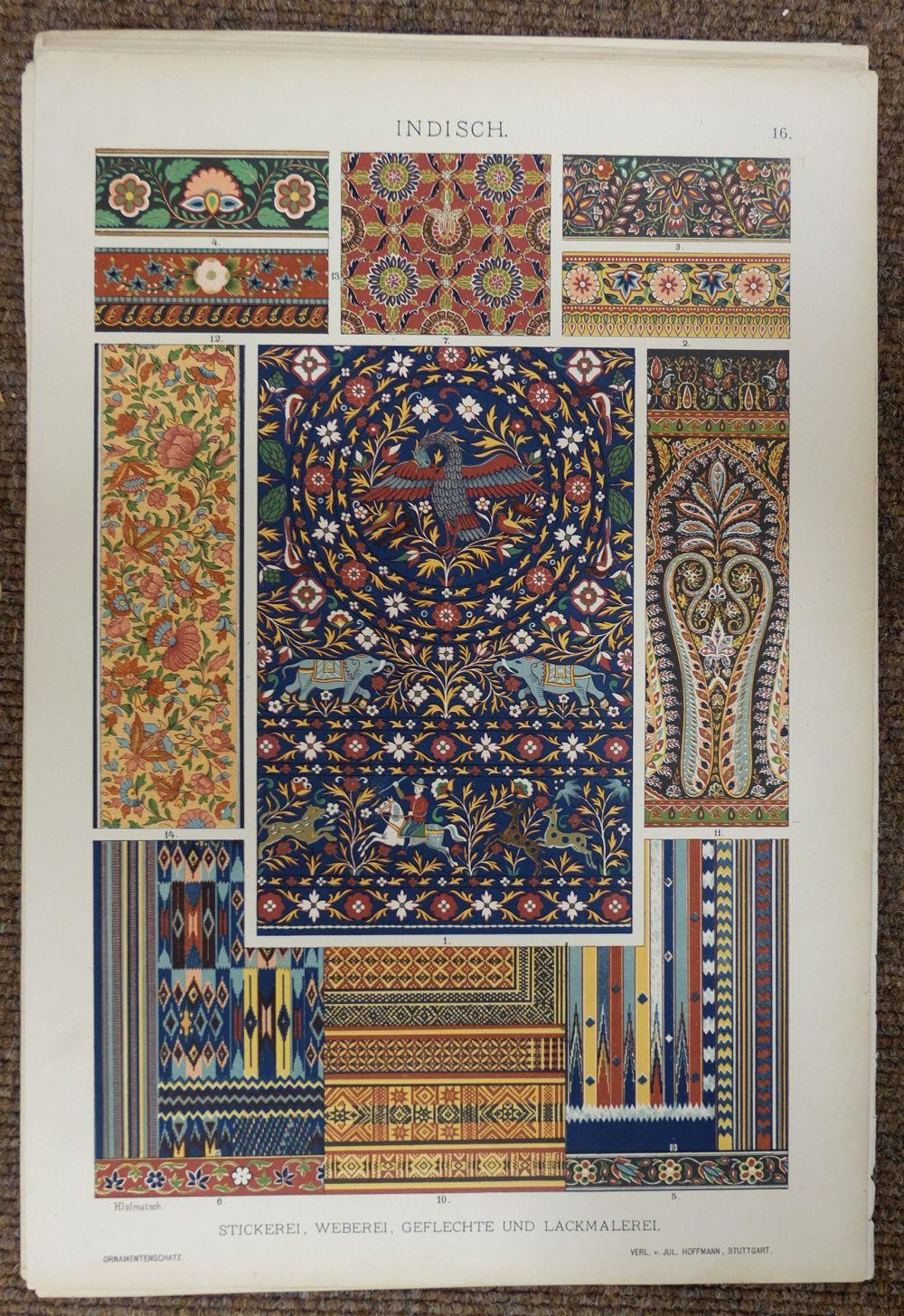 * Interiors and Design. A mixed collection of approximately 750 prints, mostly 20th century