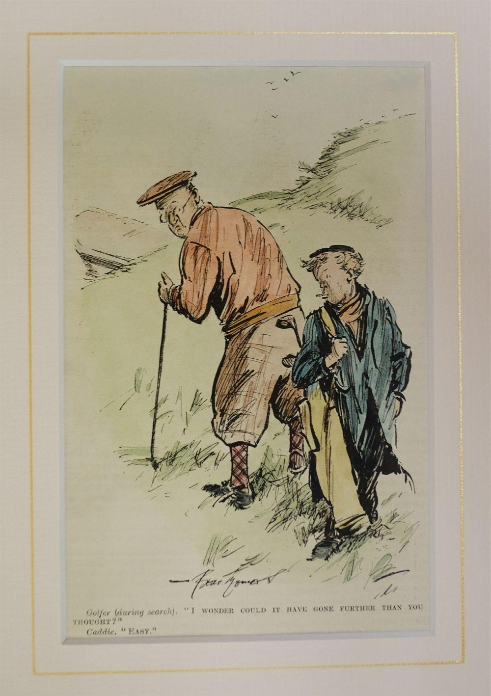 * Punch cartoons. A large collection of approximately 1250 cartoons, mostly early 20th century
