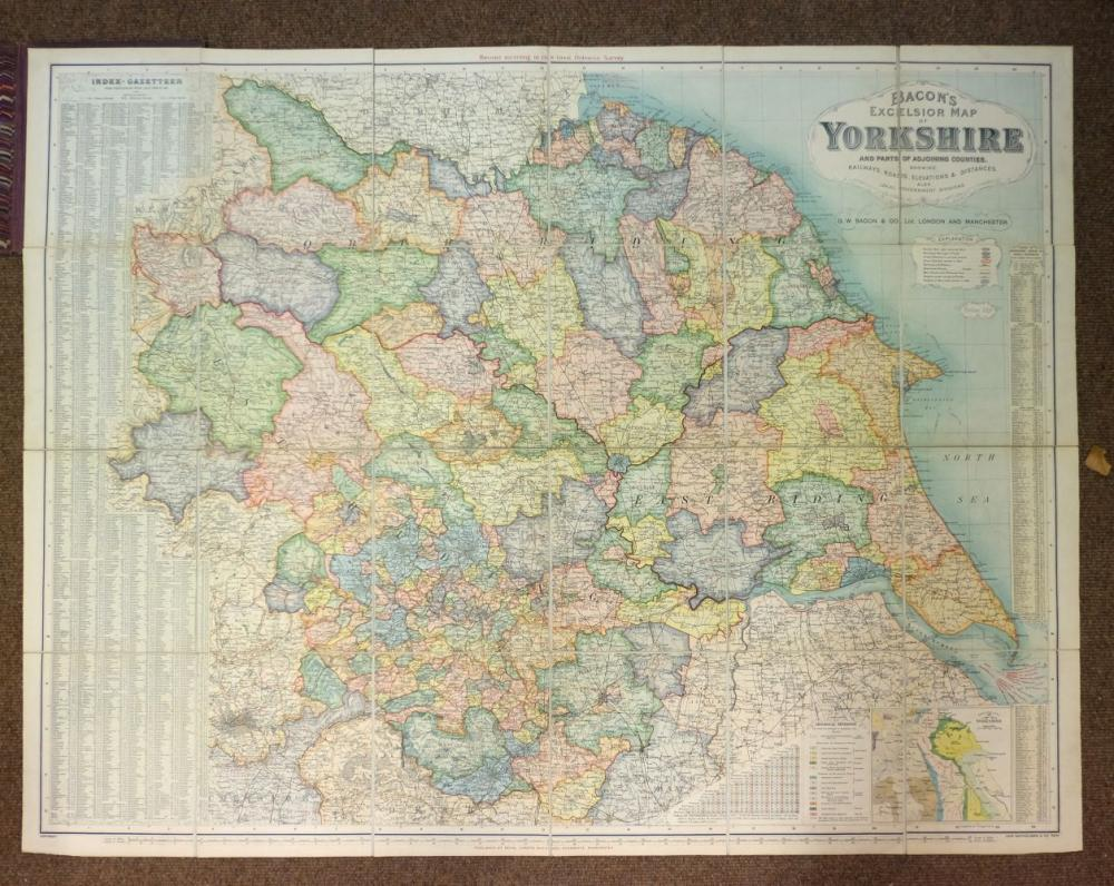 Touring & Ordnance Survey. A mixed collection of approximately sixty five maps, mostly 20th century
